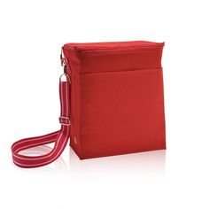 Picnic Thermal Tote in Spirit Red for $35 - More spacious than the classic Thermal Tote, this tote can hold up to two 2-liter bottles! It's great for campouts, study group, picnics or soccer games. It's insulated to keep cool things cool and warm things warm. Via @thirtyonegifts