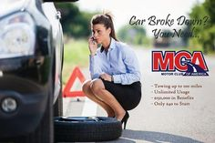 (800) 796-7710 ext. 1284 http://www.mca4u2.com  Here's why you should join... -$80-$90 Per Referral  - Unlimited Roadside Assistance  - Health and Dental Discounts  - Car Battery Boost  -$1,000 Credit Card Protection  -$5,000 Stolen Vehicle Reward  -Lockout Services -$500 Bail Bond Certificate  -⛽Emergency Fuel Delivery and much more..  U.S. and Canada Only