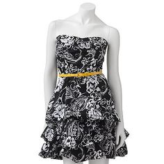My 8th grade graduation dress!!! ya babay!! :) at kohles online sale $22.99 but orginally 68  its called the Speechless Pick Up-Style Tube Dress