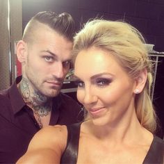 Image result for corey graves and becky lynch