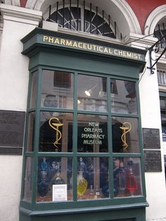 New Orleans Pharmacy museum. Ok-been outside twice... And it's been closed... Twice...