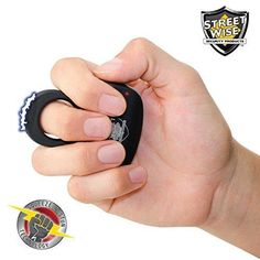 Streetwise Sting Ring 18 Million Volt Stun Gun Ring Rechargeable Discrete Protection - $18.48 shipped | Slickguns