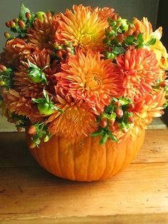 Flower Pumpkin...