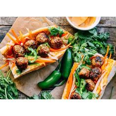 Meatballs Banh Mi  Check our Pinterest (AsianDate) for this yummy recipe! #AsianDate #asian #food #instagood #love #recipe #lunch #weekend #brunch #dinner #photooftheday #bestoftheday