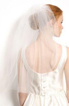Nina 'Audrey' Veil available at #Nordstrom fluffy!!!! Good for photos
