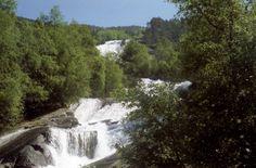 Wilder Wasserfall, Foto: U. Kretschmer