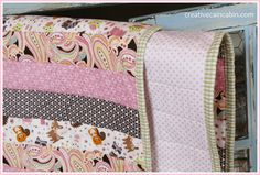 My niece is having a baby girl, and for me it was the perfect opportunity to do something I love… Quilt! I just recently made another baby quilt for my Best Friends Daughter. Over the years I pick up the quilting hobby from time to time. I find you have to have a need for …