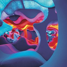 The exhibition underway at Vitra Design Museum Gallery features a lifesized reconstruction of Verner Panton?s 1970 Phantasy Landscape. in News Design. Awesome Bedrooms, Cool Rooms, Coolest Bedrooms, Vitra Design Museum, Chill Room, Relax Room, Futuristic Interior, Retro Futuristic, Futuristic Design