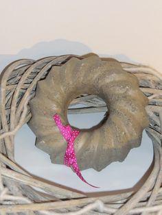 Großer Kranz aus Beton von Little Things auf DaWanda.com