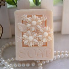 Homemade Soap Mold / Flower Soap Mold / Square Soap Mold / Christmas Soap Mold
