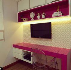 Meu quarto Room Makeover, House Architecture Design, Home Decor, Small Room Bedroom, Apartment Decor, Room Decor, Bedroom Decor, New Room, Tiny House Design
