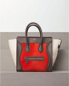 Luggage Mini in Pony Calfskin Brick
