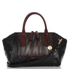 The #brahmin morgan double handle satchel... chic, roomy & perfect. #fall2012 #MyBrahminStyle