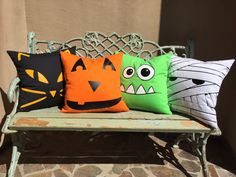 Halloween faces by Belinda Speights on Etsy