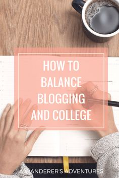 Time management can be a real struggle in college, especially when you're a blogger! Want to find the perfect balance between blogging and college? Click through to read my tips to become a time management master!