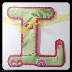 L - Embroidery It | Creative Embroidery Designs