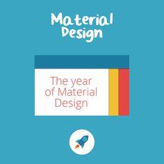 Year of Material Design #MATERIAL #DESIGN #2016 #TREND
