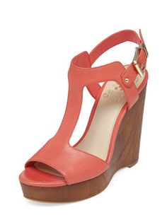 Mathis T-Strap Wedge by Vince Camuto at Gilt