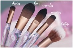 Neve Cosmetics - Crystal Flawless Brushes Preview