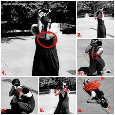 how to avoid camera shake
