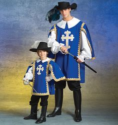 One of these years, I'm going to make musketeer costumes for my three guys.
