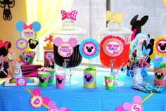Minnie Mouse Birthday Party Ideas | Photo 2 of 74 | Catch My Party