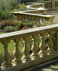 Haddonstone is the leading manufacturor of cast stone building materials, making elements like quoins, keystones, balustrades, coping and capping, etc.