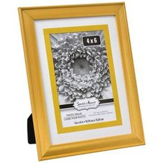 Special Moments Two-Tone Matted Gold Plastic Photo Frame, 4x6 in.