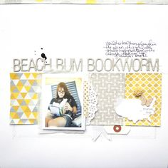 Beach Bum Bookworm by marcypenner at @Studio_Calico