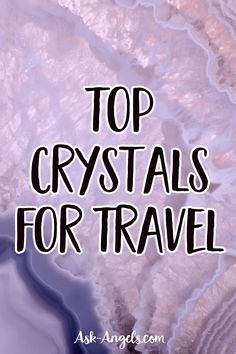 Learn the Top Crystals for Travel! Whether you'd like energetic support while traveling for protection, stress relief, or positivity. These crystals...