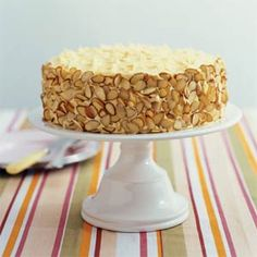 """""""Almond-apricot Cake"""" is a perfect item for birthday party. Every easy to making these cake."""