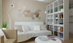 Interiér vzorového jednozibového bytu Ikea, Bratislava | RULES Architekti
