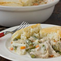 Comfort Food Recipe: Chicken Pot Pie with Biscuit Topping — Recipes from The Kitchn