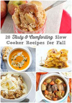 You are sure to find a cozy slow cooker recipe to keep you and your family warm and satisfied in this collection of 20 Tasty & Comforting Slow Cooker Recipes for Fall. Slow Cooker Apples, Best Slow Cooker, Slow Cooker Soup, Slow Cooker Recipes, Chai Spice Recipe, Delicious Crockpot Recipes, Yummy Recipes, Yummy Food, Chicken Veggie Soup