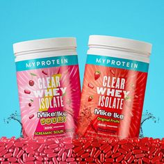 Clear Protein Powder Post Workout Shake, Mike And Ike, Candy Brands, Chewy Candy, Blender Bottle, Whey Protein Isolate, Sour Candy, Sour Cherry