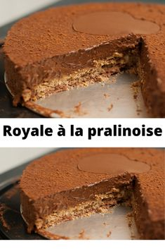 Delicious Cake Recipes, Yummy Cakes, Sweet Recipes, Dessert Recipes, Baking Bad, Mousse, Chocolate Candy Recipes, Crockpot, French Pastries