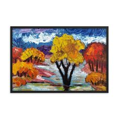 , Create a unique and personalized Ambiance in your Home and Office Timeless Beauty, Framed Art, Woodland, Original Paintings, Alternative, Scene, Key, Create, Simple