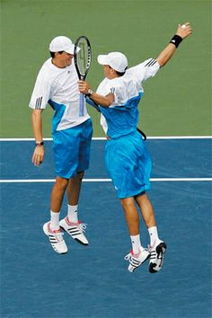 Bryan Brothers- doubles kings