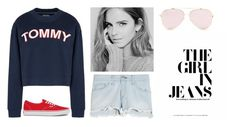 """""""Camp"""" by anna-eisaman on Polyvore featuring Tommy Hilfiger, rag & bone and Vans"""