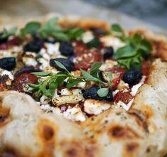 Grekisk pizzapaj