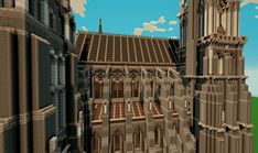 Chartres Cathedral (With Download) - Screenshots - Show Your Creation - Minecraft Forum - Minecraft Forum