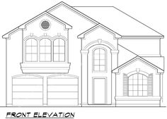 Oxmoore Valley House Plan -