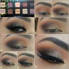 Adım Adım Göz Makyajı Nasıl Yapılır Resimli Anlatım | Pembe Fikir | Kadın ve Moda Portalı