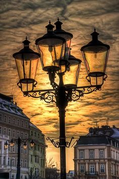 Beautiful Slovakia. http://www.travelandtransitions.com/destinations/destination-advice/ #StreetLamp