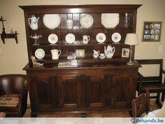 LOT meubelen Franse landelijke stijl donker eik - Te koop