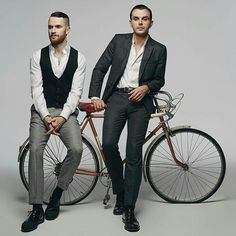 Hurts shoot by Danil Golovkin for Glamour Russia