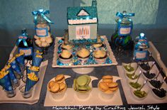 Sweets and treats! A favorite with the kids during Hanukkah! -- Crafting Jewish Style: December 2011