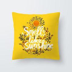 Yellow Print Cushion Cover - M, Print 21