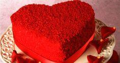 Kalp Şeklinde Kadife Pasta Tarifi