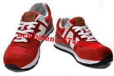 New Balance 574 ML574UA Red White Black